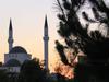 Заказ на фоне мечети в Шкодре
