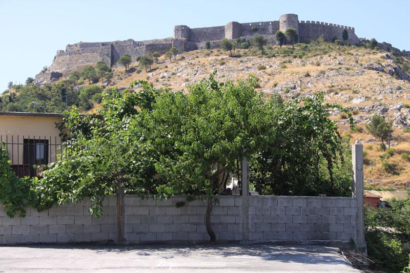 албанская крепость розафа