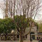Вид на Султан Ахмед с площади ипподрома