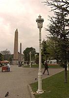 Площадь ипподром, вид на обелиски