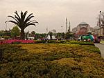 Площадь Султан Ахмет в цвету