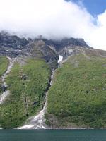 Высохший водопад