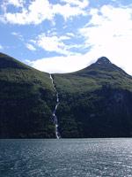 Горные водопады норвегии