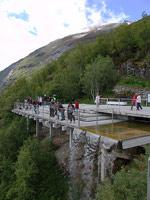 Смотровая площадка над Гейрангерфьордом