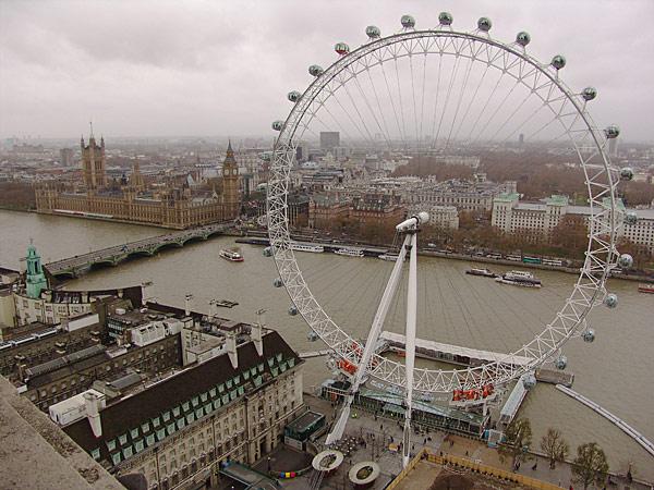 Панорама Лондона