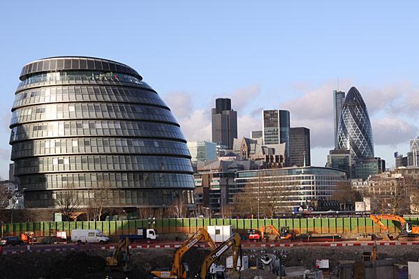 Футуристический Лондон