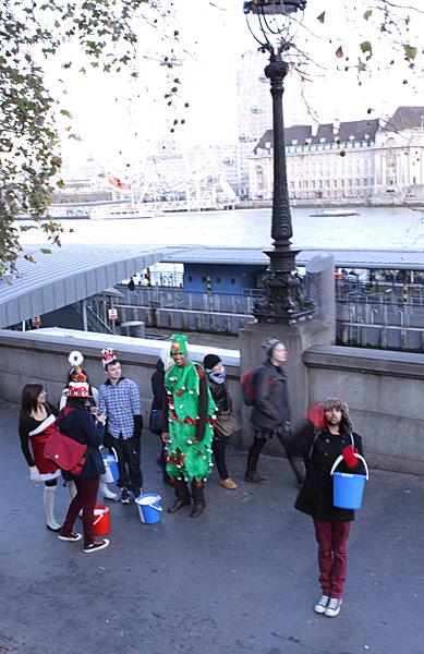 лондонцы ждут рождество