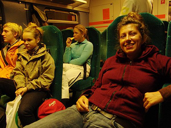 поезд берген восс
