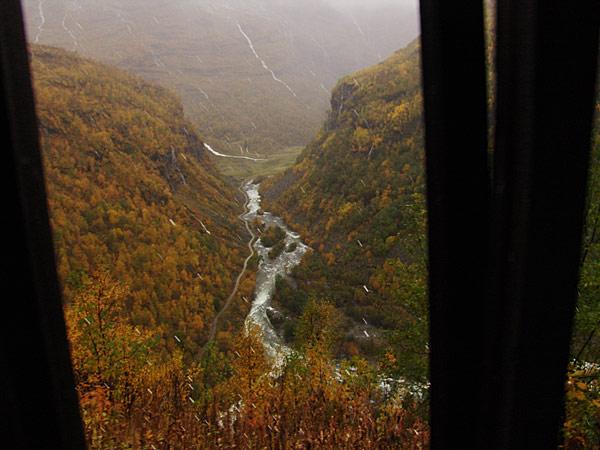 Тоннель на пути в Мирдаль