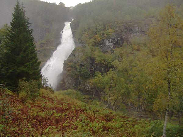 Водопады Гудвангена