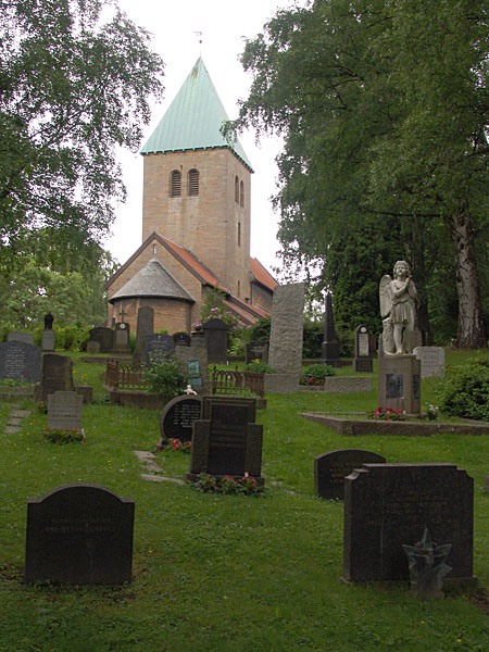 старая церковь Gamle Aker Kirke в Осло