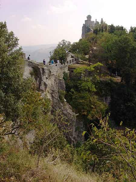 Сан Марино: башня Честа