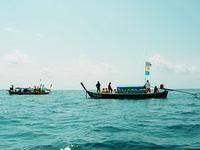 Морские цыгане и дайверы
