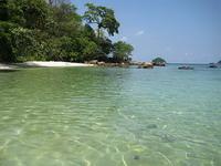 Мелководье у острова