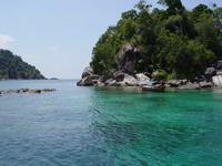 Изумрудная отмель у острова