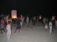 Китайские фонарики на Ко Липе