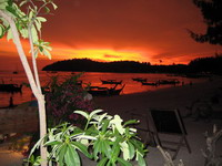 Сказочный закат на Ко Липе