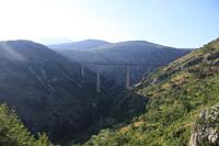 Железнодорожный мост в Черногории