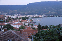 Вид на бухту Охрида