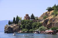 Церковь на мысе в Охриде