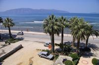 Вид из окна гостиницы на Адриатическое и Ионическое море