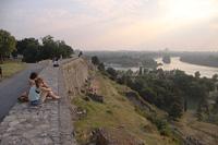 Вид на Дунай из белградской крепости