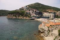 Городской пляж и Старая Будва