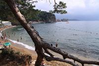 Дальний пляж Старой Будвы