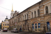 Старые здания в Рыбинске