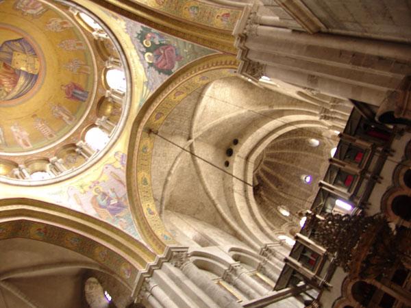 купол в Храме Воскресения Христова