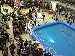 Бассейн для водоплавающих роботов