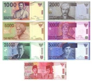 бумажные деньги индонезии