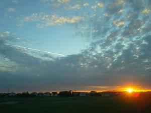 восход солнца в белоруссии
