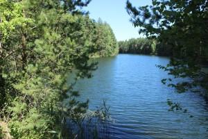 Озера на месте карьеров под Воскресенском