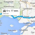 дорога из Стамбула в Салоники