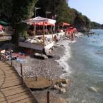 Каменистые пляжи Охрида