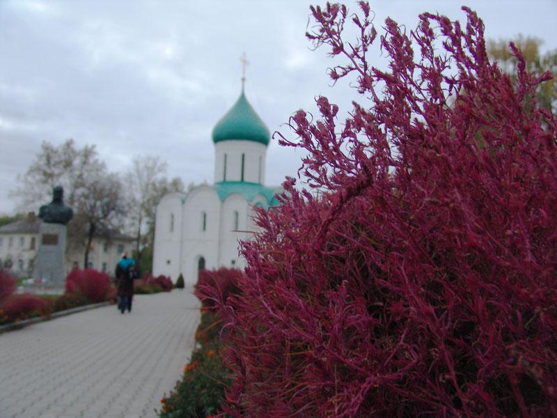 Церковь в центре Переславля