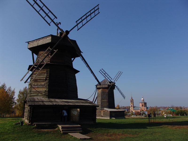 Музей деревянного зодчества в Суздали