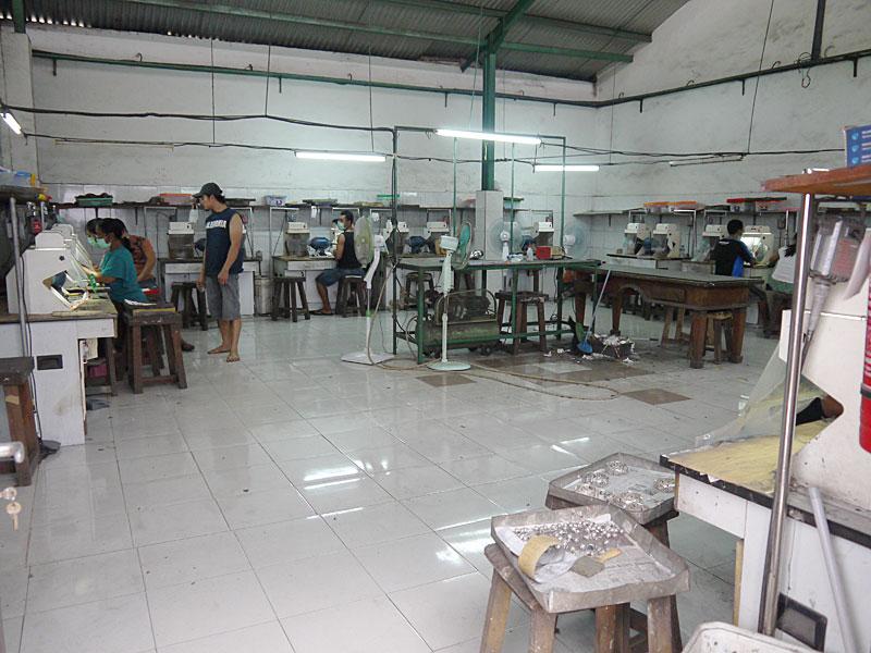 Общий план цеха полировки готовых ювелирных изделий