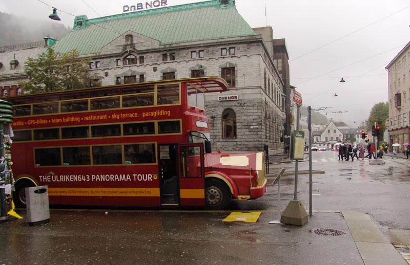 Экскурсионный двухэтажный автобус