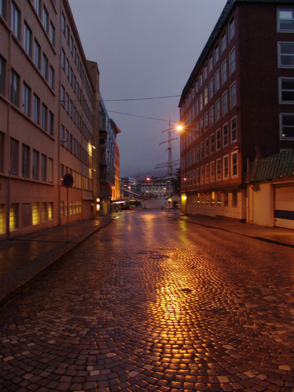 Мокрые закоулки Брюггена