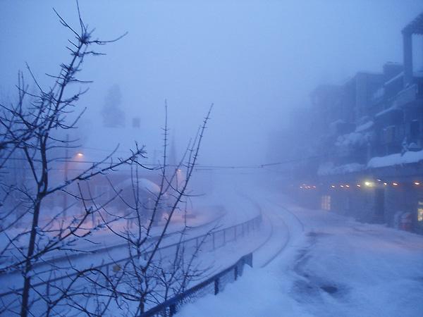 Порою на Холменколлен приходит такой вот туман