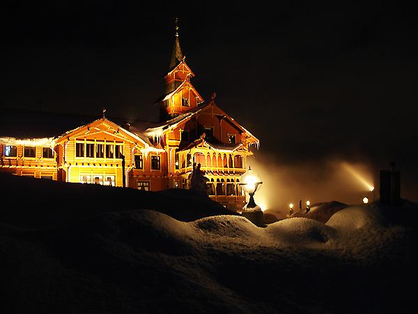 Отель у погибшего альпиниста на вершине Холменколлена