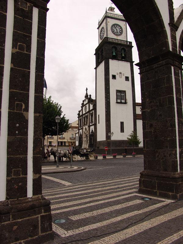 Центральный костел Понто Делгада